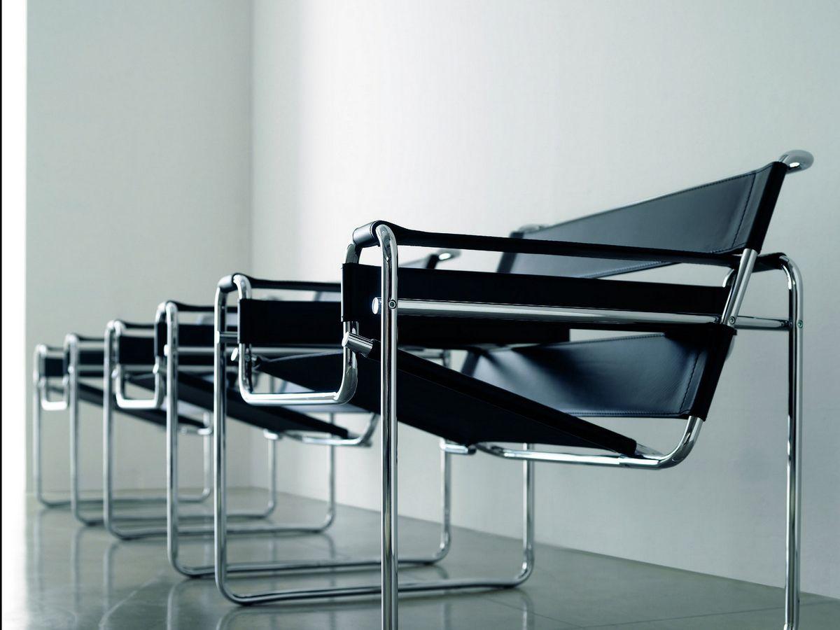La Chaise Wassily De Marcel Breuer Loupe