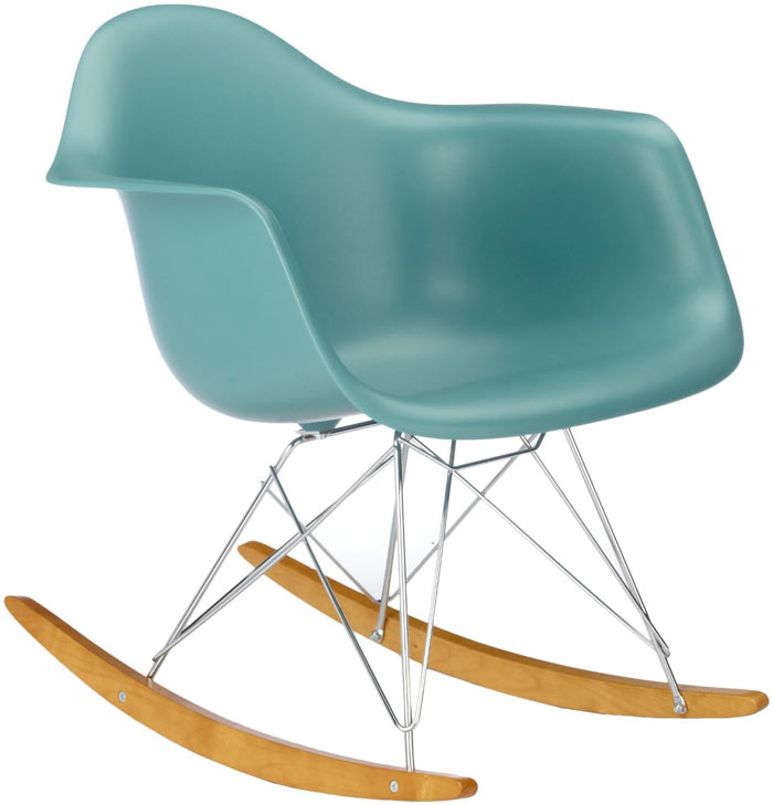 Chaise bascule rar eames for Chaise bascule eames vitra