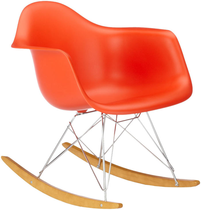 la chaise à bascule rar signé eames par vitra - lecatalog.com - Chaise A Bascule Eames