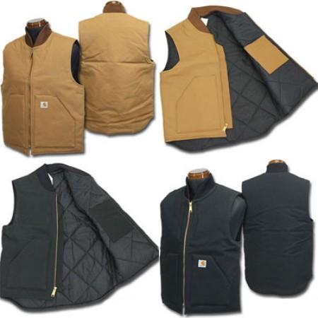 official photos huge selection of new lower prices L'Artic Vest, la doudoune sans manches version Carhartt ...