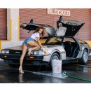 La terre s'arrête de tourner quand Karrueche Tran lave une DeLorean