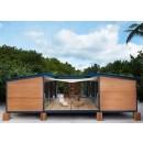 La maison au bord de l'eau de Charlotte Perriand par Vuitton.