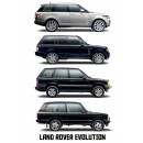 4 Générations de Range Rover En Moins De 1 Minute 30