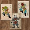 Les héros de Star Wars, revisités par Joseph Chiang.