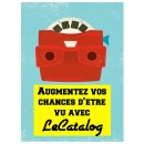 Etre présent sur LeCatalog ? C'est facile, et surtout gratuit !