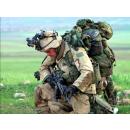 """Le sac à dos """"Molle"""" de l'US Army."""