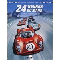 Les 24H Du Mans – 1964/1967 Le Duel Ferrari-Ford Façon Glénat.
