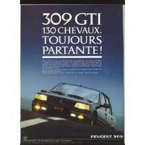 La 309 GTI, La Sportive Mal Aimée De Chez Peugeot