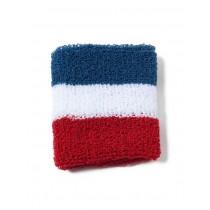 Le Bracelet en éponge aux couleurs du drapeau français