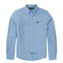 La chemise Oxford en Herringbone par Lyle & Scott