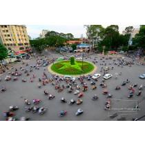 L'énergie implacable et le rythme du changement de Ho Chi Minh City (Saigon)