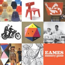 Le jeu de Memory Charles et Ray Eames