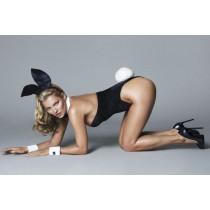 Kate Moss, une jolie bunny pour le soixantième anniversaire de Playboy.