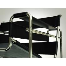 La chaise Wassily de Marcel Breuer à la loupe.