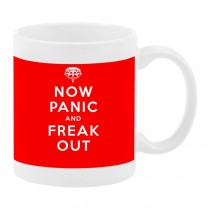 Le Mug  Now panic and freak out.