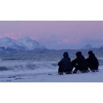 Northbound, Du Skateboard sur le sable gelé en 4K
