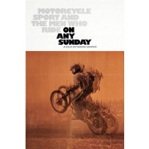 Le Motocyclisme avec McQueen dans On any Sunday.