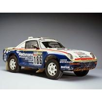 Re-découvrez la Porsche 911 du Paris Dakar 1984.
