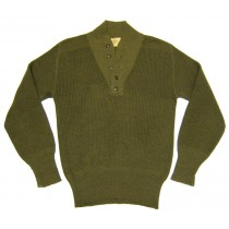 Le Pull 5 boutons de l'US Army.