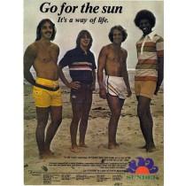 Sundek, l'autre icone du surf depuis 1958.