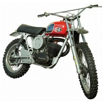 La Husqvarna 250 cc de Steve McQueen.