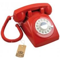 Le téléphone rouge.