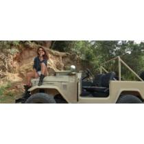 Cool, une ballade en Toyota Land Cruiser vintage