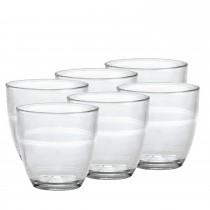 Le verre Duralex Gigogne.