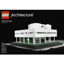 La villa Savoye du Corbusier by LEGO ®.
