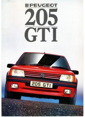 La 205 GTI, La Sportive façon Peugeot