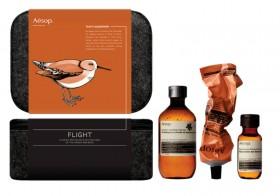 Le Flight Gift Set de chez Aesop.