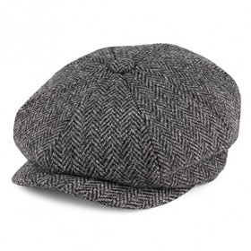 La casquette Gavroche en Harris Tweed de chez Failsworth Hats