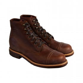 "Les Chippewa Original 6"" Homestead Boots"