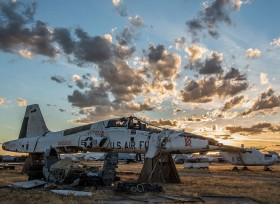 La Davis-Monthan Air Force Base, The Boneyard