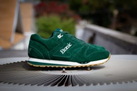 Etonic Mens Trans Am Suede Forest Green .