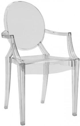 La Chaise Louis Ghost par Starck pour Kartell