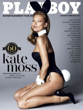 Kate Moss, Joyeux anniversaire Playboy.