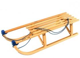 La luge en bois pliable Davos de chez Spartan Sport