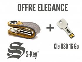 Offre Elégance (S-Key feutre + clé USB 16 go)
