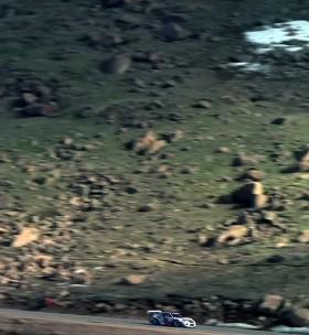 La Pikes Peak en Porsche GT3 sous 4K