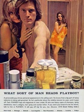 Quel genre d'homme lit Playboy Magazine ?