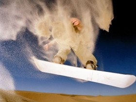 Le Sandboarding du Snowboard version estivale