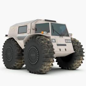 Le SHERP ATV, un 4X4 dans la plus pure tradition soviétique
