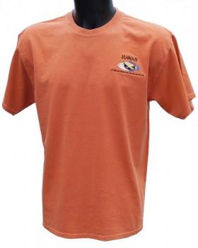 T-Shirt teinté à la terre d'Hawaii