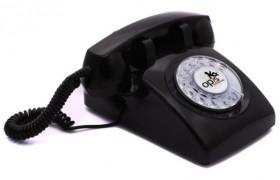 Le Téléphone Rétro à cadran rotatif