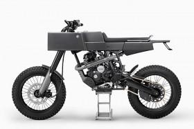 Quand les Yamaha Scorpio montent au paradis elle deviennent des Thrive T005 Cross
