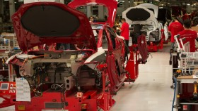 Telsa Model S, un beau process de production.