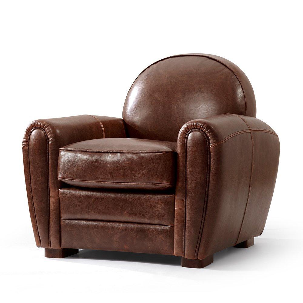 le fauteuil club 1930 en cuir