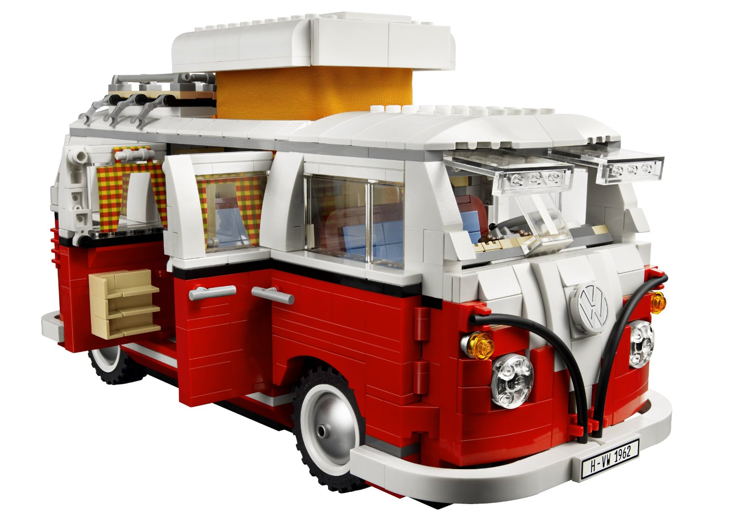le combi volkswagen par lego. Black Bedroom Furniture Sets. Home Design Ideas