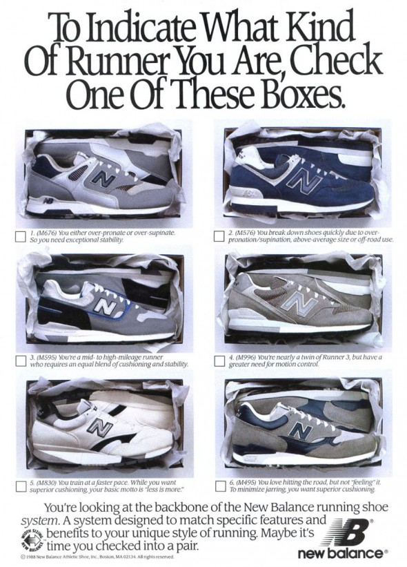 chaussures new balance histoire